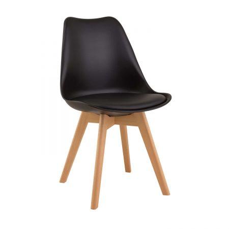 Καρέκλα Demy Μαύρο