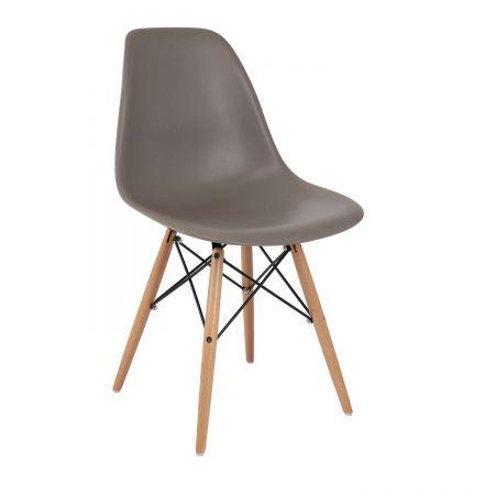 Καρέκλα Anita-Wood Γκρι