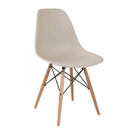Καρέκλα Anita-Wood Μόκα