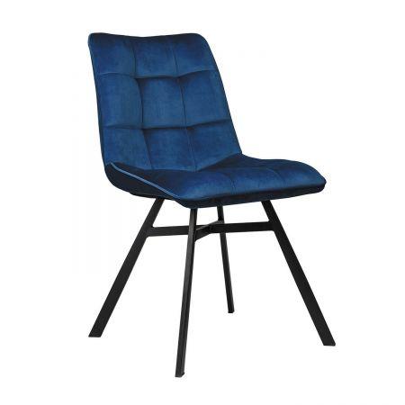Καρέκλα Simona Μπλε