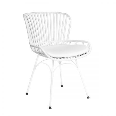 Καρέκλα Mayorka Λευκό