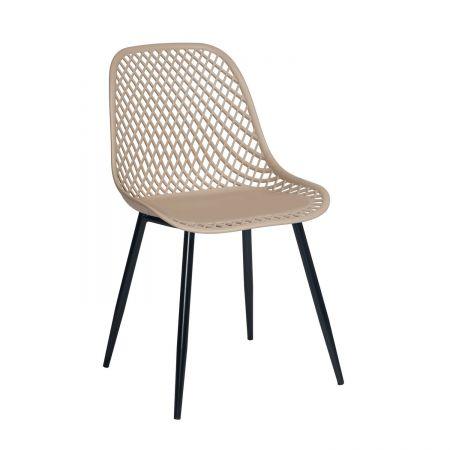 Καρέκλα Lida Μόκα