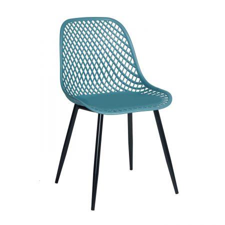 Καρέκλα Lida Πετρόλ
