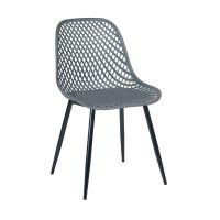 Καρέκλα Lida Γκρι